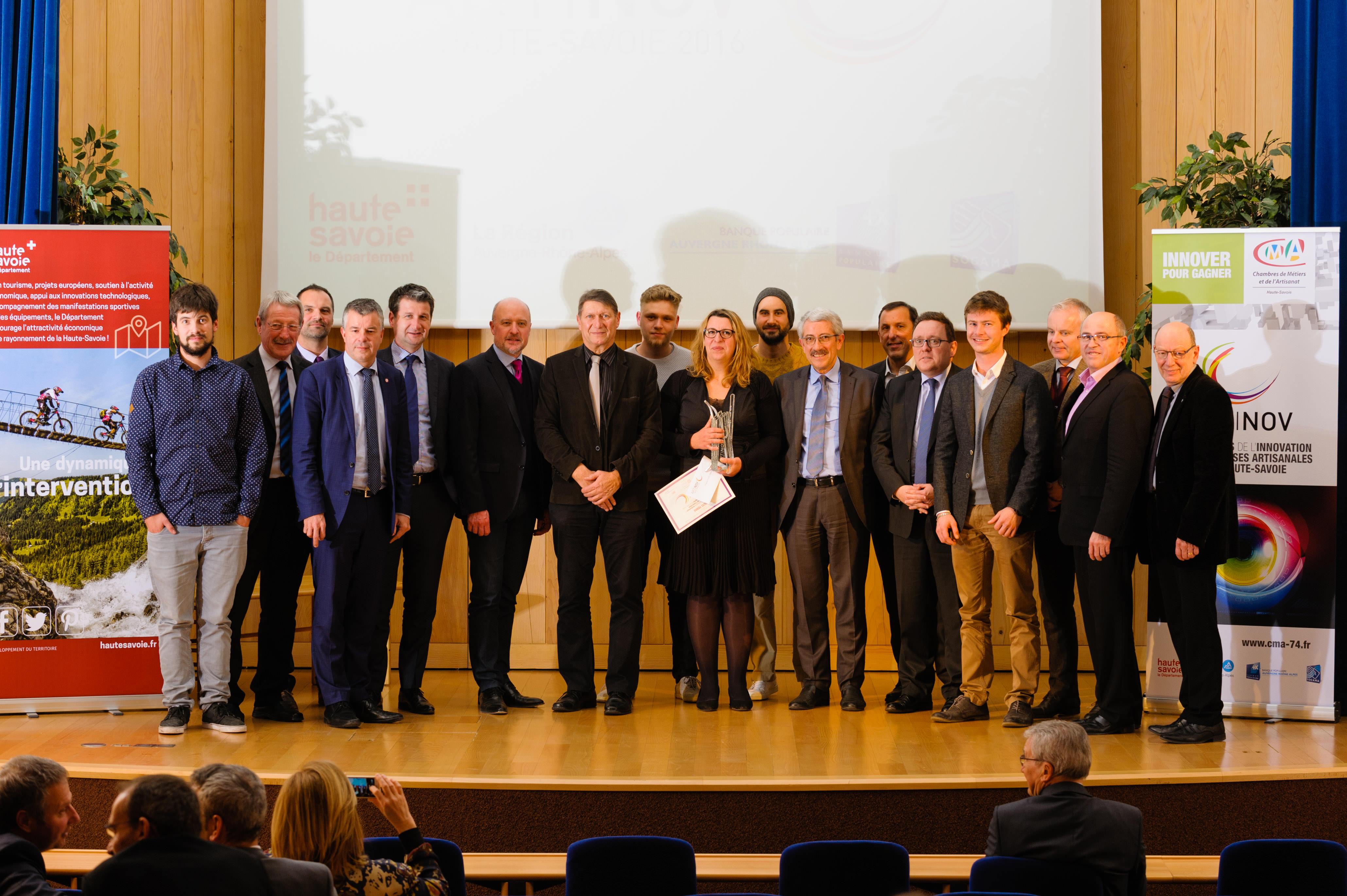 ARTINOV – Les lauréats 2016