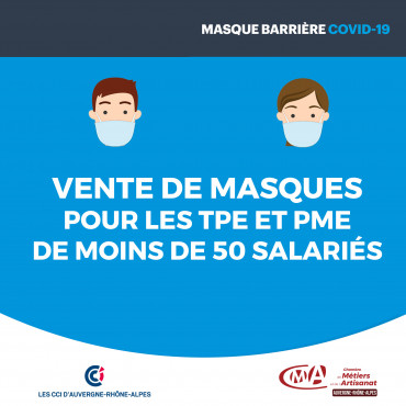 vente de masques TPE PME