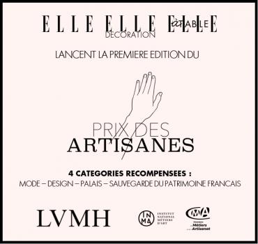 Prix Artisanes ELLE