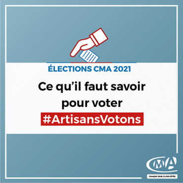Elections CMA : ce qu'il faut savoir